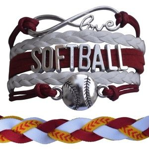 Softball Bracelet & Headband Set